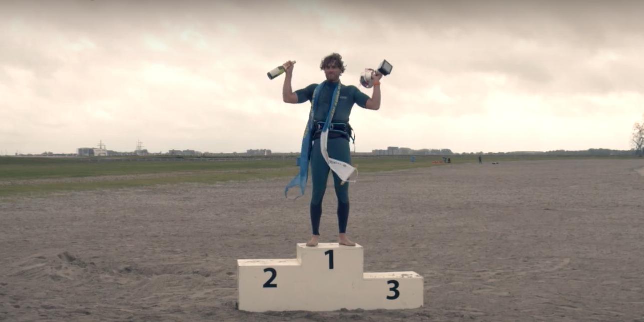 Jordy Vonk Nederlands Kampioen Windsurf Slalom