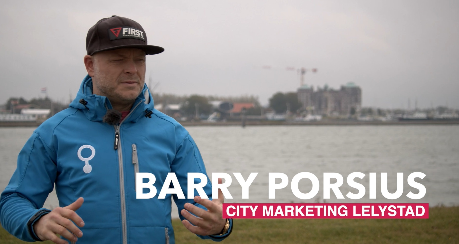 Barry Porsius over het Surffestival